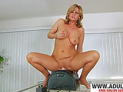 Frail stepmom becca blossoms gives titjob sexy delicate son&#39s ally