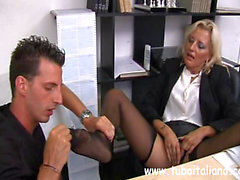 Italian Mature Female Manager