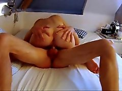 Wife Sitting On Cock In Love