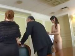 Flexible Asian Slut gets Fucked In Front of step parents