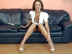 bj long legged milf teasing in high heels