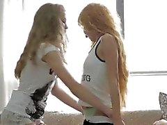 Teen grace piss 2 girls poke 1 man very hot!