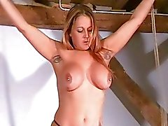Merciless Tit Tortures of Busty Milf Ginas Bondage