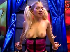 Pigtailed Leona Sexy Cum doll - Extreme Bukkake