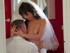 Japanese bride Marica Hase sucking and fucking
