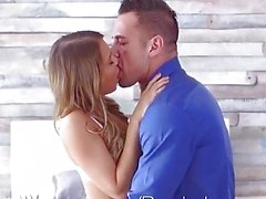 Passion-HD - Kendall Kayden puts on lingerie for her pussy lover bf
