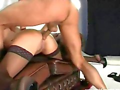 Dutch Brunette MILF Sex