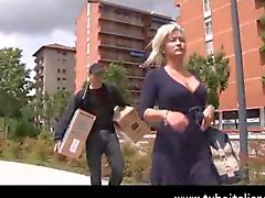 Italian Milf and Younger Boy Mamma Italiana