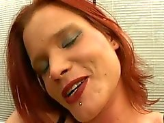 NASTY REDHAIR BITCH FUCKED BY HUGE COCKS...usb