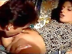 Italian MILF and daughter double team lucky guy