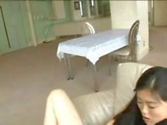 Clothed Masturbation with Sister Watching
