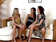 Barbara Jackie And Michelle Fisting Frenzy