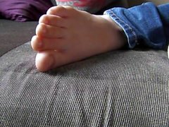 Sleeping Feet Worship 2