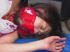 viol collectif, bdsm, blowjobs, brunettes, soins du visage