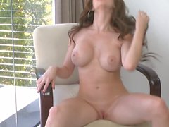 Busty Emily Addison hot solo