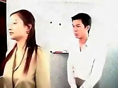 Chinese female boss fuck employee