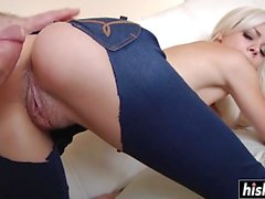 Elsa Jean gets her wet cunt plowed
