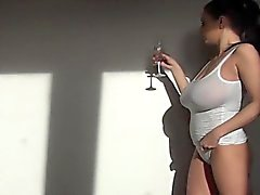 Horny housewife double penetration