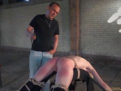 le sexe oral, domination, esclavage, étudiant, pipe