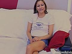19 Year Old Jasmine Drilled by Thick Dick