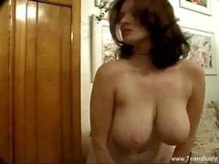 Giant Boobs Perfect MILF Solo
