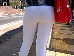 sdruws2 - yoga pants see through at bus stop