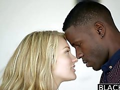 BLACKED Blonde Girlfriend Alli Rae Loves Black Cock