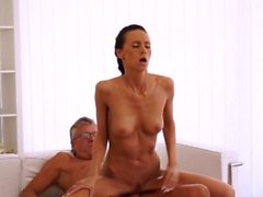 Teen monster cock Finally she's got her manager dick