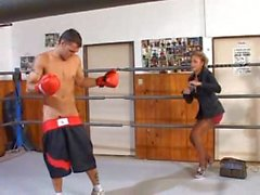 DELFYNN DELAGE - Anal on Boxing Ring