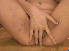 asiatisch, vollbusig, fingersatz, behaart, masturbation