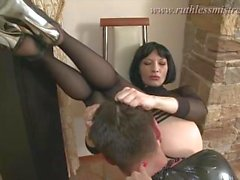 ruthlessmistress - Total restraint and ass worship