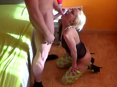 18yr old BERLIN TEEN in HOMEMADE SEXTAPE with Boyfriend