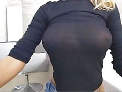 MILF nice firm ass butt big tits boobs big hard nipples