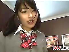 Japanese Schoolgirl Wants Her Teacher