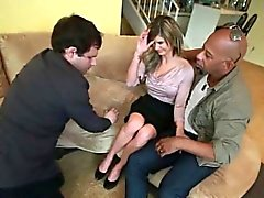 Chloe Chaos husband can watch how a real man