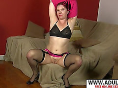 Naughty mamma kimberlee cline gives titjob sexy delicate step son