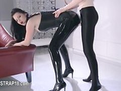Great fetish girl4girl toy movie
