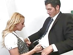 Lexi Belle Has Sex In The Office.