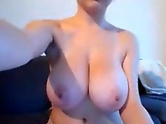 Big tit babe with Glasses Teasing