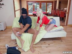 Elsa Jean Riding His Monster